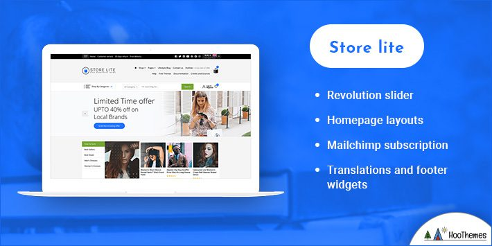 Store Lite WordPress Themes for Selling Books