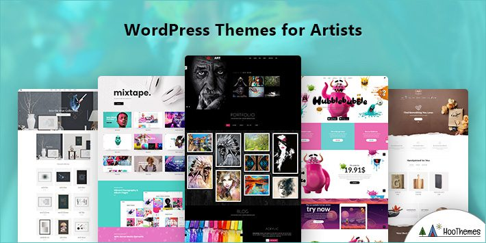Artists WordPress Themes
