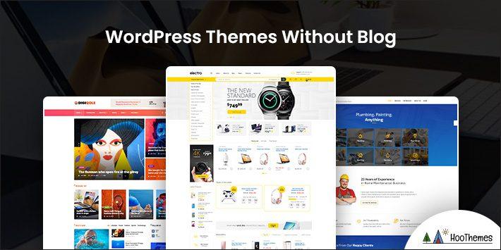 WordPress Themes Without Blog