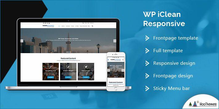 WP iClean Responsive