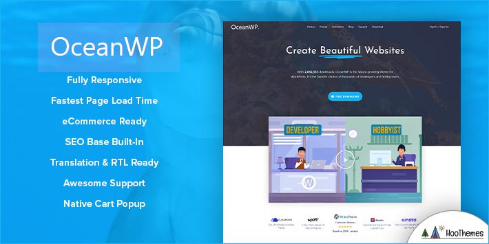 OceanWP WordPress Blog Themes for Bloggers