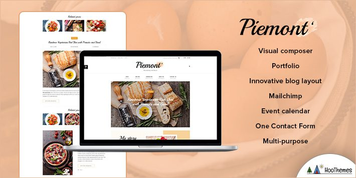 Piemont - Travel and Lifestyle WP Themes for Beginners