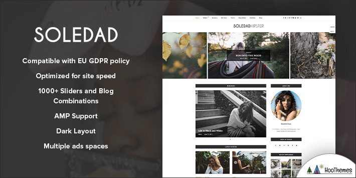 Soledad - Multi-Concept WordPress Blog Themes