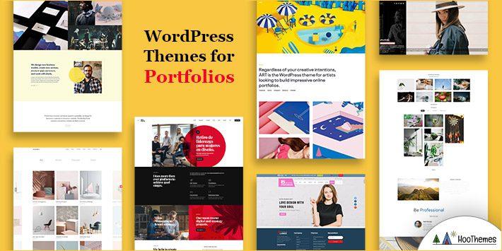 WordPress Themes for Portfolios