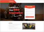 Auto Insurance WP Lead Theme