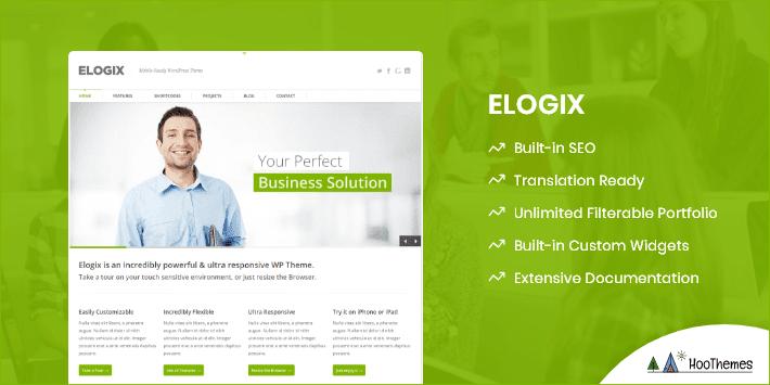 ELOGIX Customizable WordPress Theme