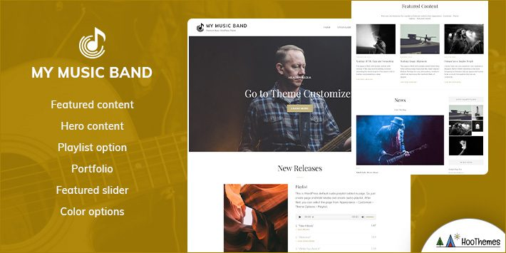 My Music Band WordPress Themes for Musicians