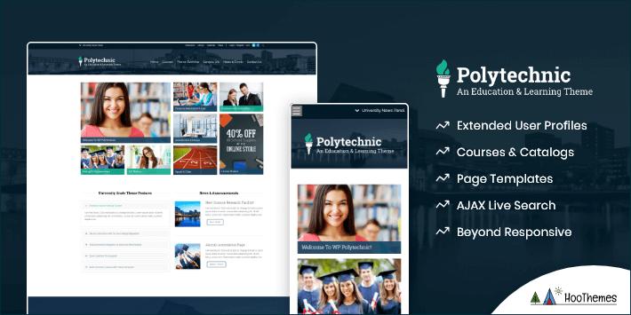 Polytechnic Customizable WordPress Theme