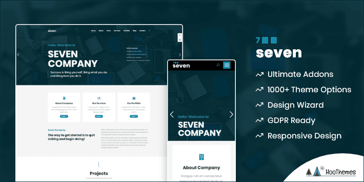 The7 Customizable WordPress Theme
