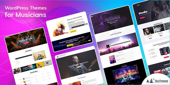 WordPress Themes for Musicians