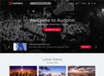 Audonic Podcasting WP Theme
