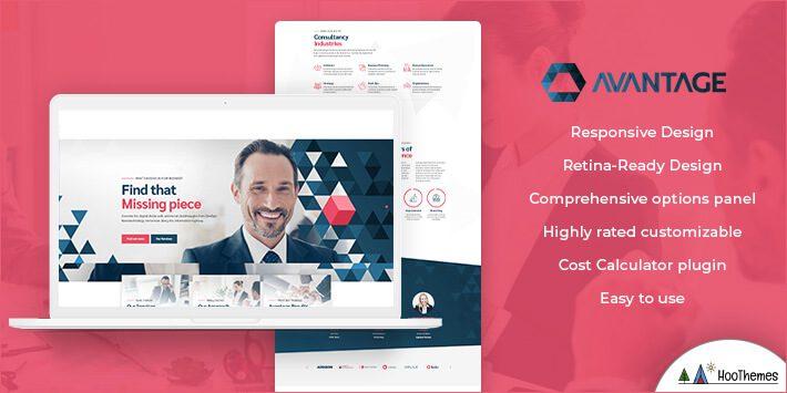 Avantage - Business Consulting WordPress Theme