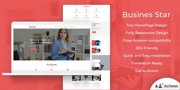 BusinesStar WordPress Theme