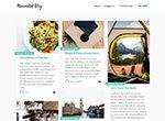 Minimalist Blog WP Themes