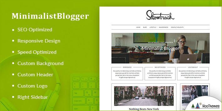 MinimalistBlogger WordPress Themes