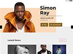 Soundrise Artists Producers and Record Labels WP Theme