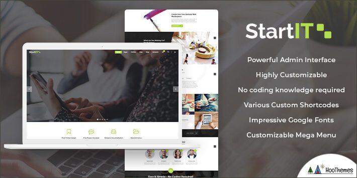 Startit - Fresh Startup Business WordPress Theme