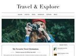 Travel Minimalist Blogger WP Themes