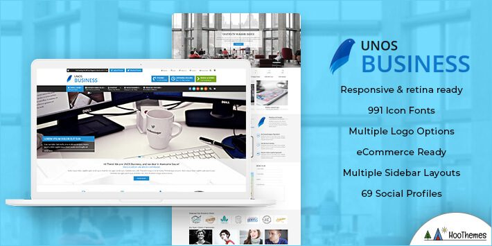 Unos Business WordPress Theme