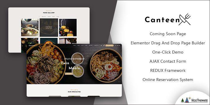 Canteen Restaurant WordPress Theme