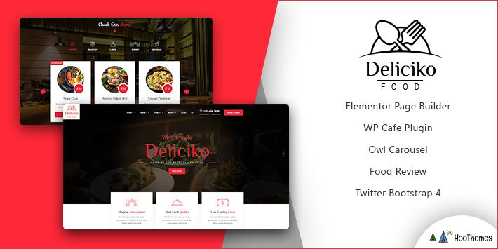 Deliciko Restaurant WordPress Theme