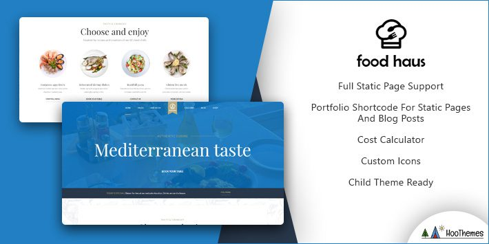 Food Haus Restaurant WordPress Theme