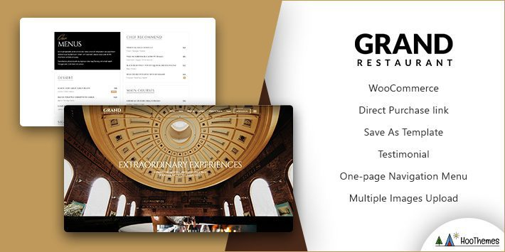 Grand Restaurant WordPress Theme