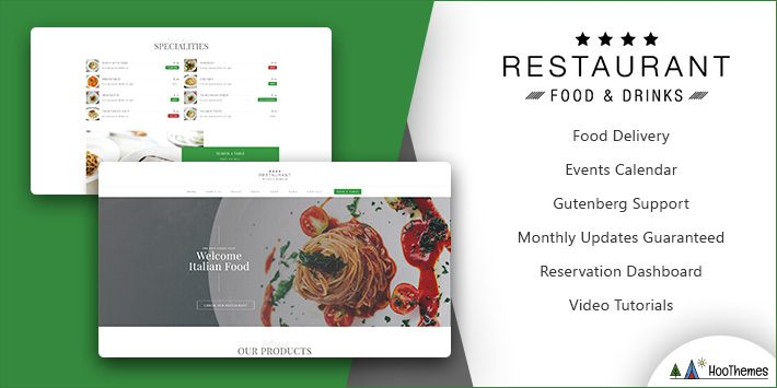 Restaurant Food Restaurant WordPress Theme