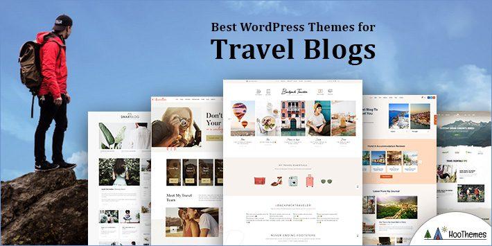 Travel blogs WordPress Themes