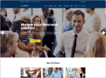 Unfinity Single Page WP Themes