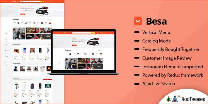 Besa Marketplace WordPress Theme