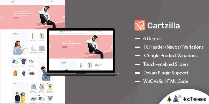 Cartzilla Marketplace WordPress Theme