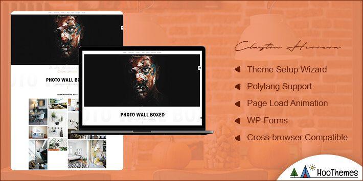 Clayton Photography WordPress Theme