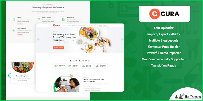 Cura Medical and Health WordPress Theme