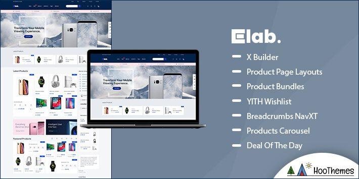 eLab Marketplace WordPress Theme
