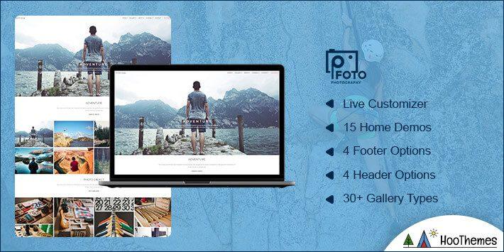 Foto Photography WordPress Theme