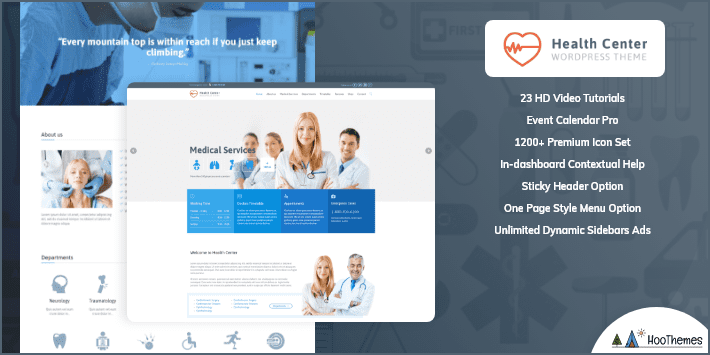 Healthcare Medical and Health WordPress Theme