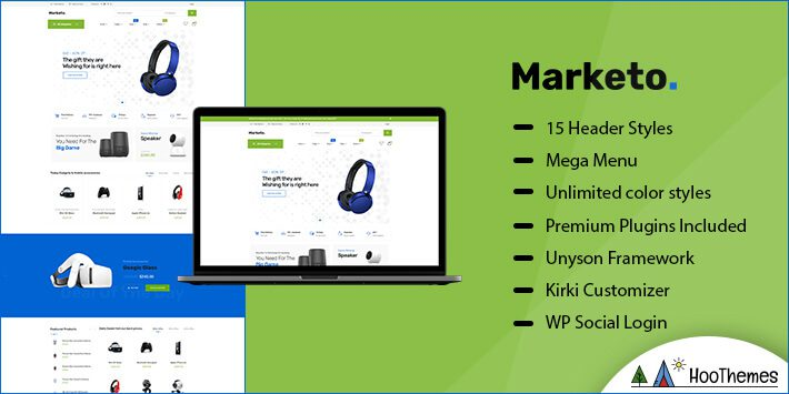Marketo Marketplace WordPress Theme