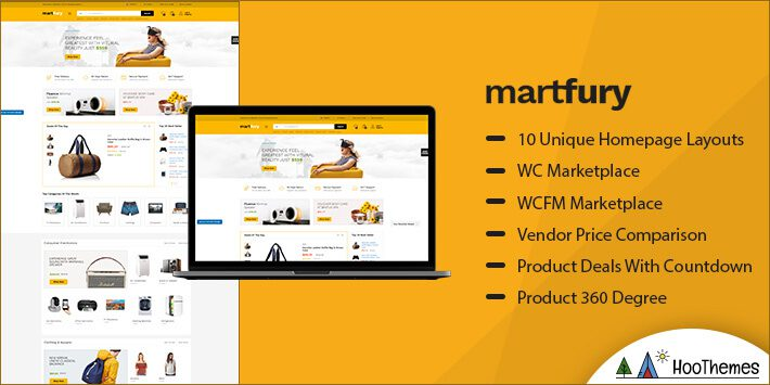 Martfury Marketplace WordPress Theme