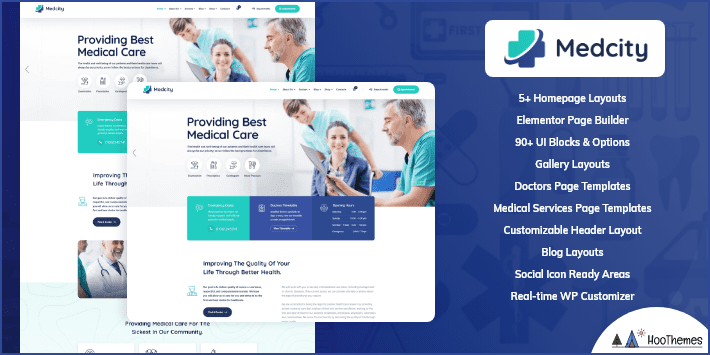 Medcity Medical and Health WordPress Theme