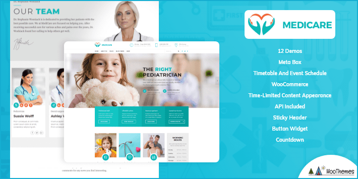 Medicare Medical and Health WordPress Theme