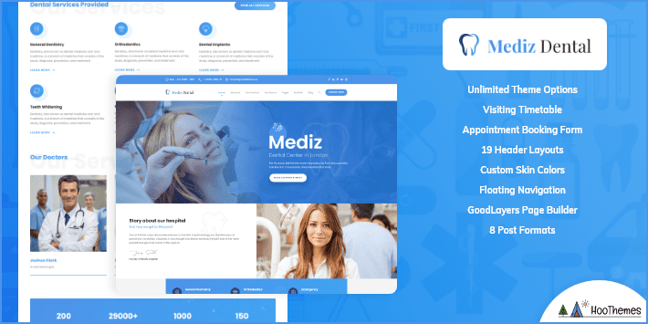 Mediz Medical and Health WordPress Theme