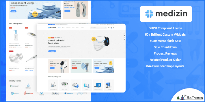 Medizin Medical and Health WordPress Theme