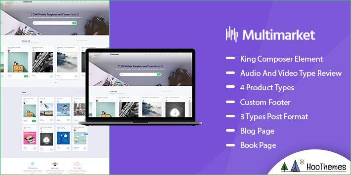 Multimarket Marketplace WordPress Theme
