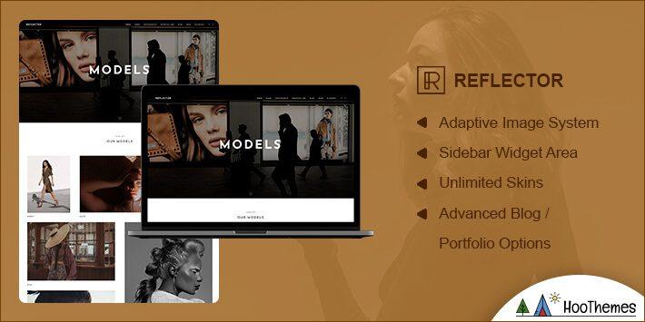 Reflector Photography WordPress Theme