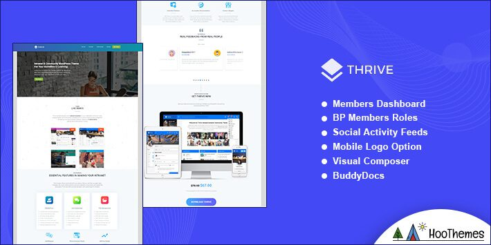 Thrive WordPress BuddyPress Theme