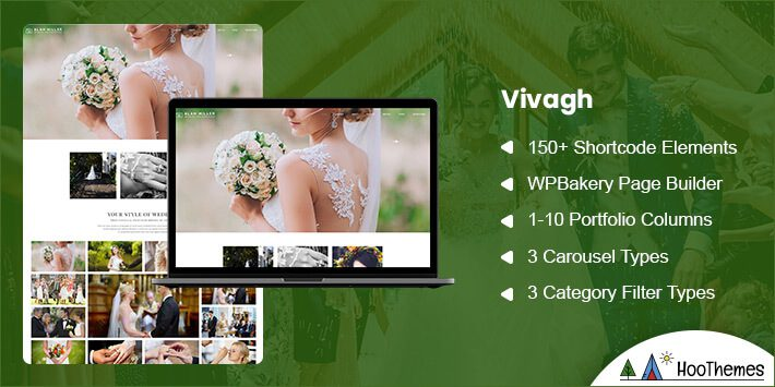 Vivagh Photography WordPress Theme