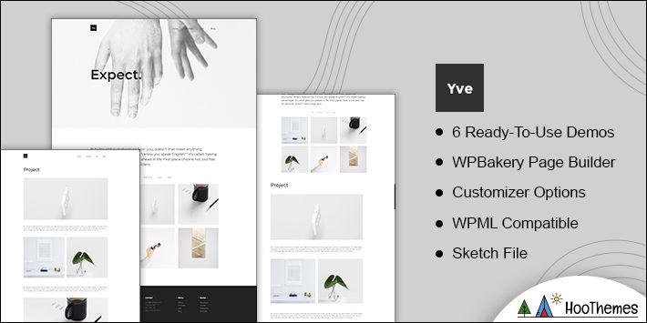 Yve Simple and Easy WordPress Theme