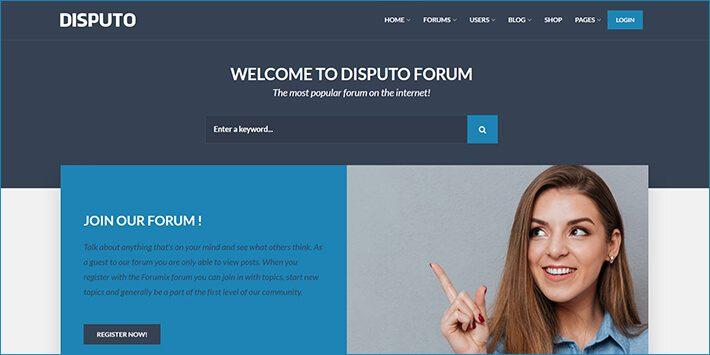 Disputo WordPress Forum Plugin
