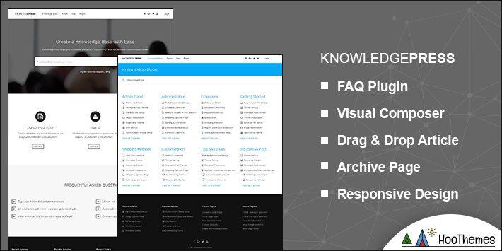 KNOWLEDGEPRESS Helpdesk WordPress Theme
